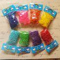 8 компл. Mix 8 Цвета комплект Для Заправки Twistz Группа Резина Loom группы (600bands 600 s-клипы/Set) для DIY браслеты