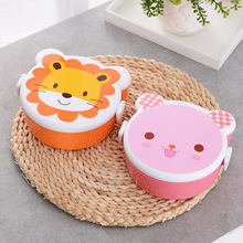 US $2.09 30% OFF|Protable Cartoon Food Container Child Microwave BentoBox Kids Food Box Dinnerware Lunchbox Cutlery Eco Friendly with Spoon Fork-in Baby Food Storage from Mother & Kids on Aliexpress.com | Alibaba Group