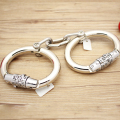 alloy Handcuffs Metal Wrist Cuffs Locking Bondage Sex Games For Married Couples For Women  Toys For Gay Strap On
