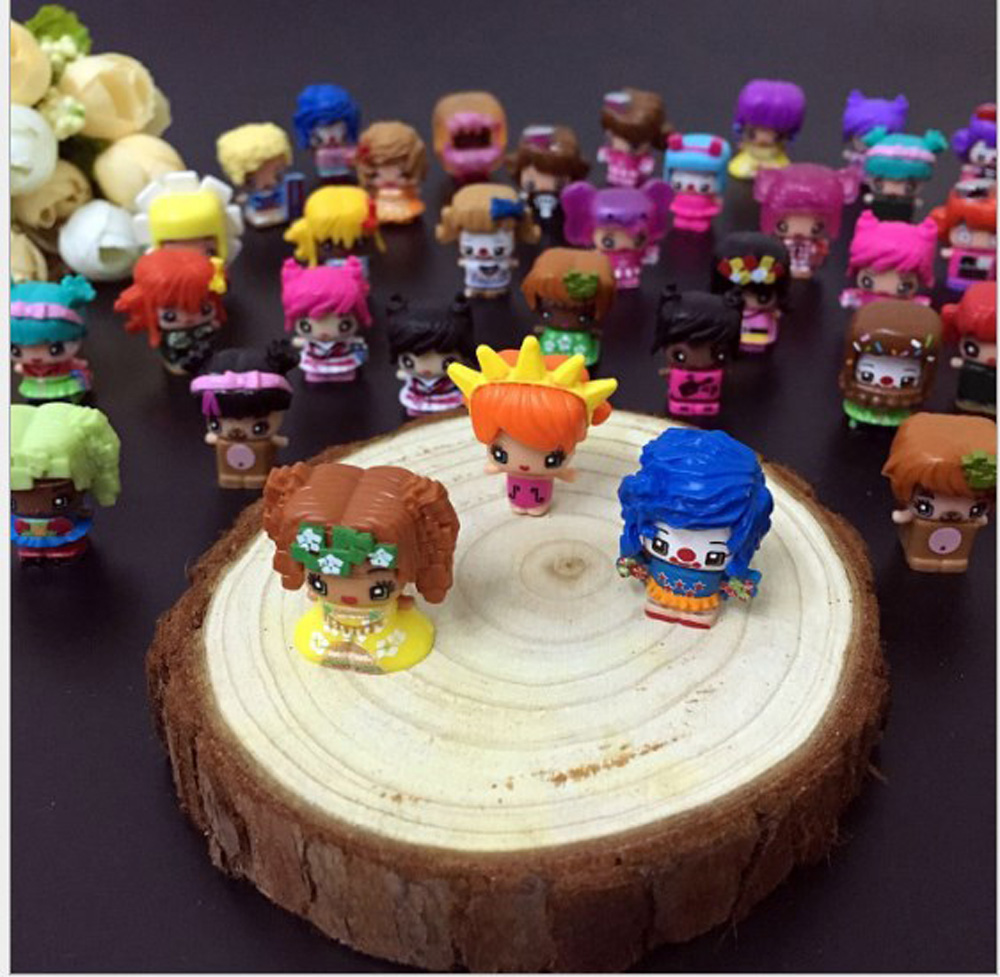 20 30 50pcs/set Pinypon Scented Doll Cosplay Toys,Pinypon Action & toy Figures Toys My Mini MixieQs For Girl