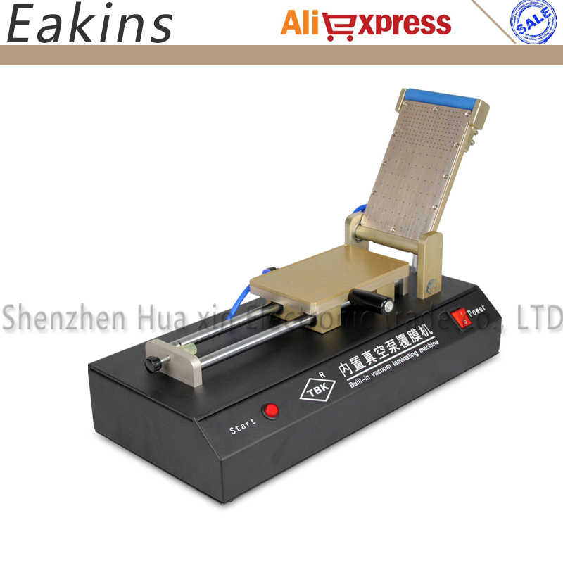 New Built-in Vacuum OCA Film Laminating Machine Polarizer for LCD Film OCA Laminator 110V OR 220V new arrival ko no 1 oca vacuum laminating machine refurbish repair oca laminator lcd lamination machine for 7 phone screens