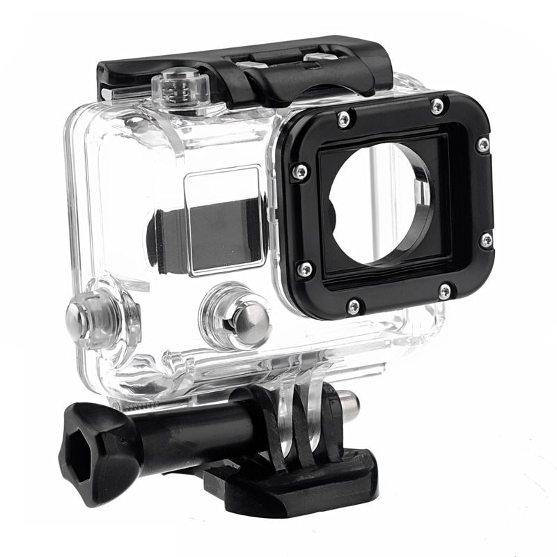 GoPro Accessories Underwater 45M Waterproof Housing Case Diving Sports Protective Skeleton Housing for Gopro Hero 3/4GoPro Accessories Underwater 45M Waterproof Housing Case Diving Sports Protective Skeleton Housing for Gopro Hero 3/4