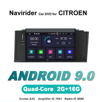 touch screen OTOJETA Android 9.0 car dvd player FOR CITROEN C4 LHD HU car accessories gps Multimedia radio Stere
