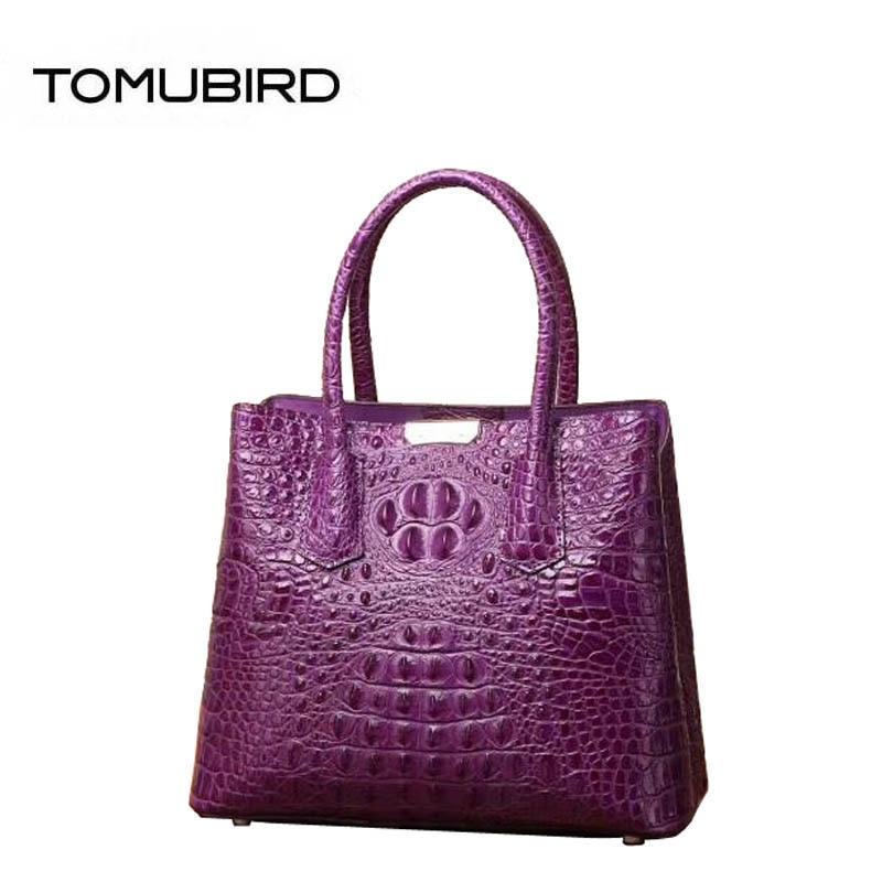 2018 New women genuine Leather bags women Leather bags superior cowhide Crocodile pattern bags handbags women famous brands цена