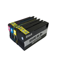 4 Color Printer Ink Compatible Ink Cartridges With Chips For HP 951 XL For Hp Officejet