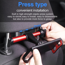 Car Rear Pillow Bracket Universal Holder 360 Degree Rotation Adjustable Back Seat Stand Car Rear Pillow for Mobile Phone IPad m07 360 degree rotation bracket w c61 back clamp for samsung i9200 ipad mini black