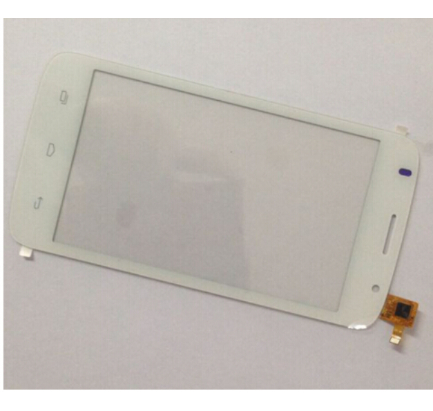 Original White touch screen 5 LOGICOM E500 Touch panel Digitizer Glass Sensor Replacement Free Ship new for 5 qumo quest 503 capacitive touch screen touch panel digitizer glass sensor replacement free shipping