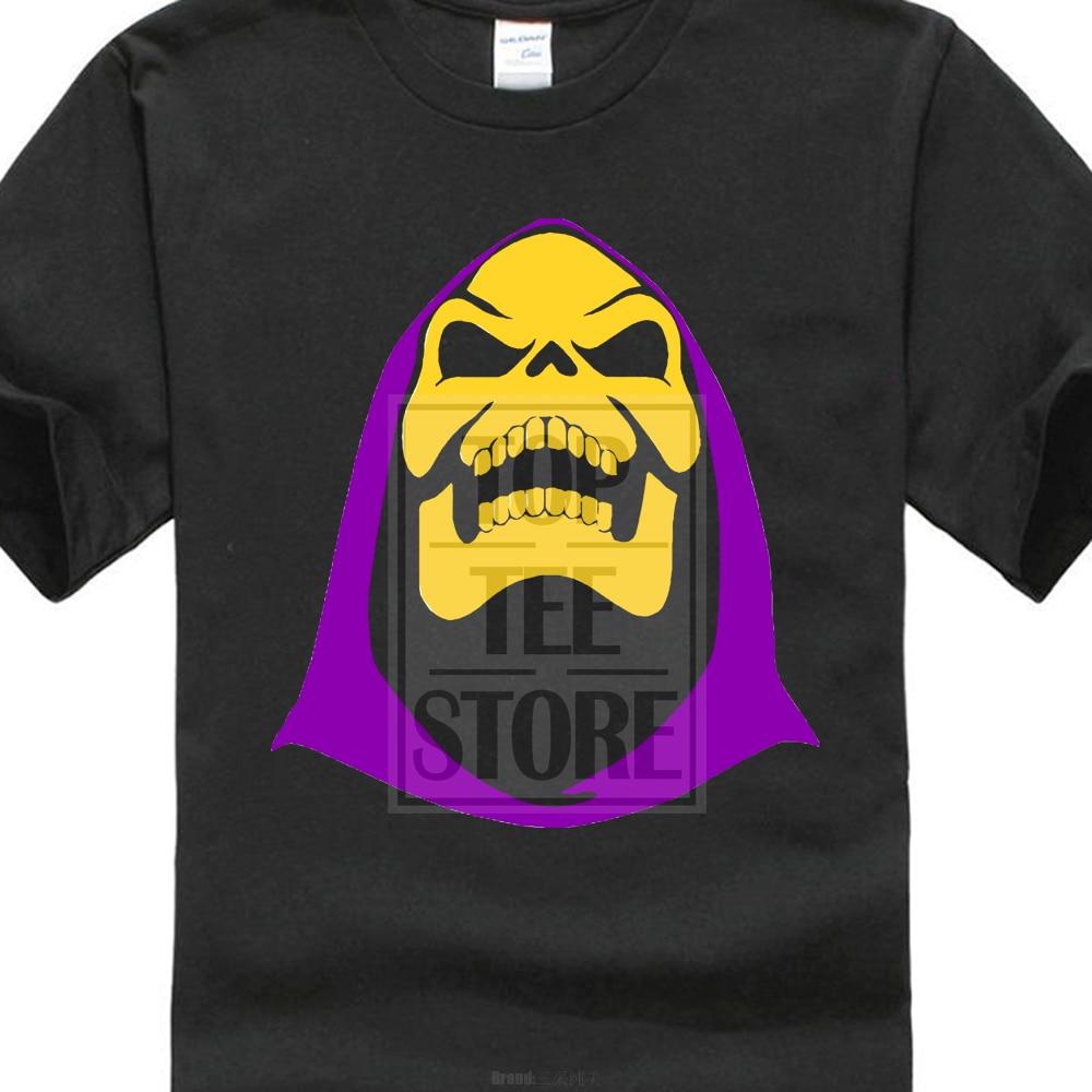 Skeletor He hombre maestros del universo 80 s camiseta de la historieta con capucha