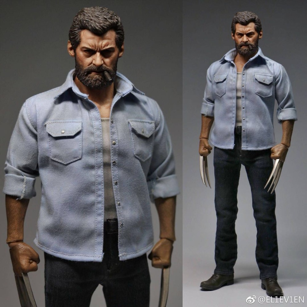 Estartek ELEVEN 1/6 X MEN Wolverine Hugh Jackman for fans collection and holiday gift Action Figure Painting
