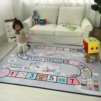 Исследование ковры для гостиной Дети тренажерный зал игру мат/коврик Детские игрушки чехол для хранения Организатор ребенка ползать Одеял
