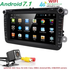 Android 7 1 8 2din Car DVD for VW POLO GOLF 5 6 POLO PASSAT B6