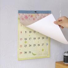 New 2019 Creative sakura pigeon wall calendar Planner Agenda Organizer weekly to do list Daily Table Planner 2018.07~2019.12