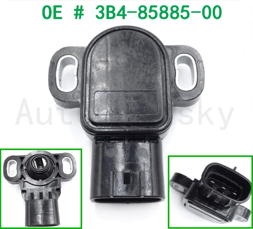 OEM 3B4-85885-00-00 Throttle Sensor For YAMAHA GRIZZLY RHINO YFZ450R 2009-2017