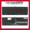 Original novo eua preto teclado retroiluminado para dell inspiron 15 5000 5542 5547 nsk-lr0bc pk1313g1b00