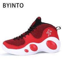 super popular b4653 78737 2019 printemps haut hommes basket-ball chaussures Jordan gros oeil léger  antidérapant homme blanc rouge baskets hommes basket ho.