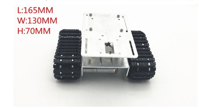 Smart Track Car 2wd Tracker Crawler Robots DIY Chassis Tank Caterpillar Vehicle Platform for Arduino cheap robot tank chassis platform diy chassis smart track huanqi for arduino sinoning sn700