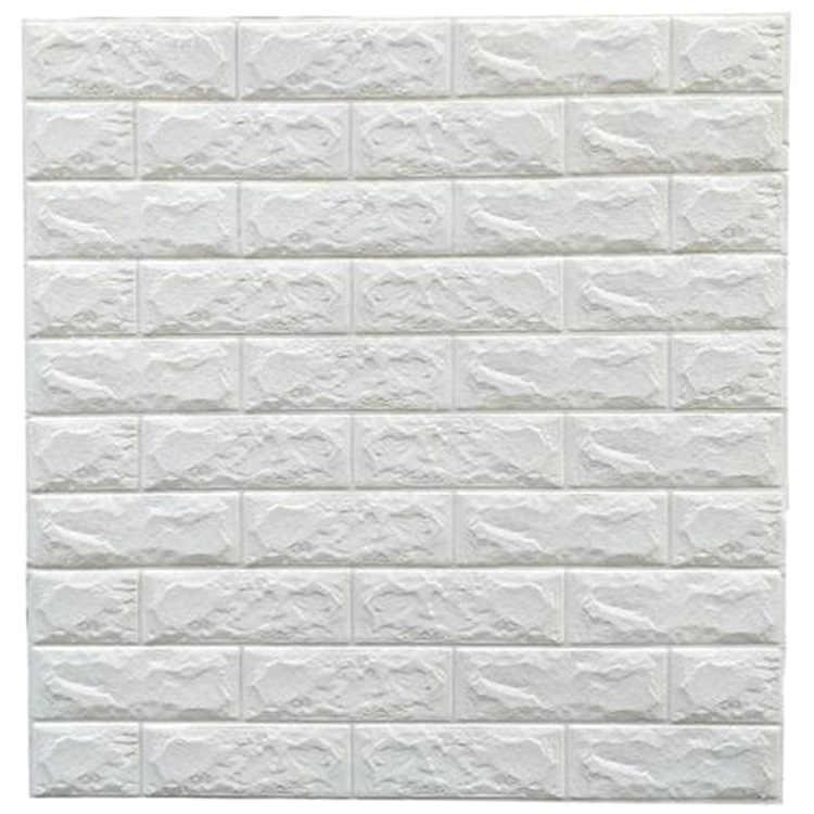 3d Self Adhesive Wall Panels Faux Foam Bricks Wallpaper For