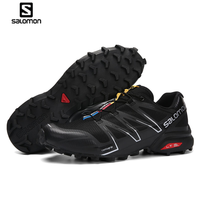 2018 salomon Men's Outdoor Sports Non Slip Wearable Trail Running Shoe Speed cross v eur 40 46 Hot
