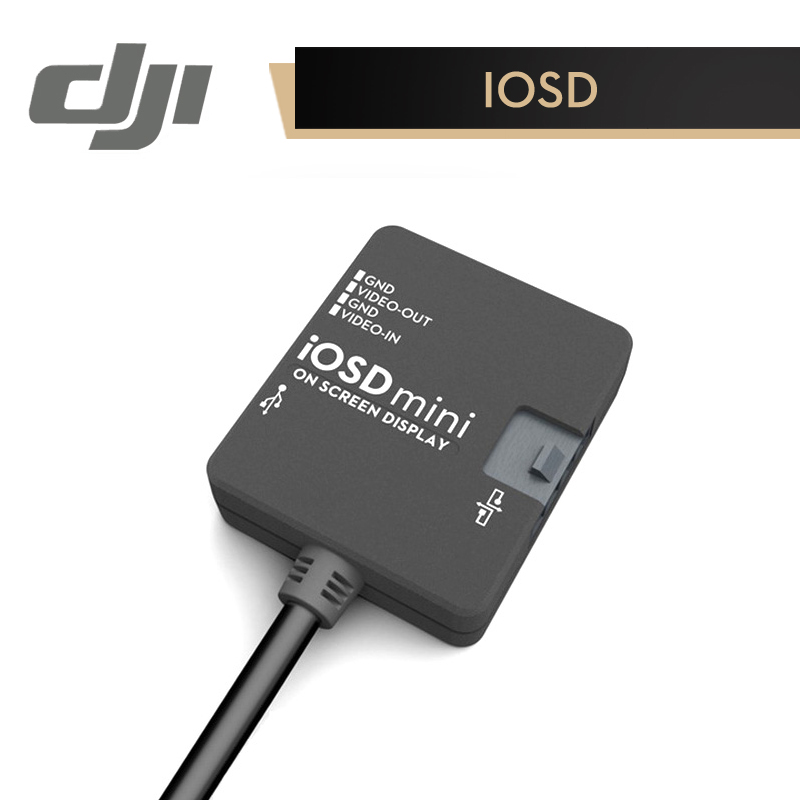 DJI IOSD mini Module for WooKong-M / Naza-M / Naza-M V2 Real-Time Flight Data & Video Signal Superposition Original Accessories