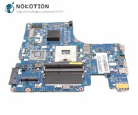 NOKOTION For Lenovo Ideapad Z500 Laptop Motherboard VIWZ1 Z2 LA 9061P Main Board HM76 DDR3 (DVD Connector 10PIN)
