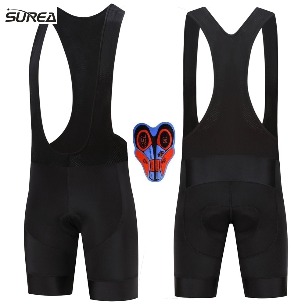NEW Bicycle <font><b>Bib</b></font> <font><b>Short</b></font> surea Men Outdoor Wear Bike Bicycle Cycling 9D Padded Riding <font><b>Bib</b></font> <font><b>Shorts</b></font> Summer black Cycling <font><b>Bib</b></font> <font><b>Shorts</b></font> image