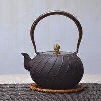 1.2L BPA free handmade yixing samovar cast iron teapot glass ceramic enameled teapot from clay enameled kettle puer green tea