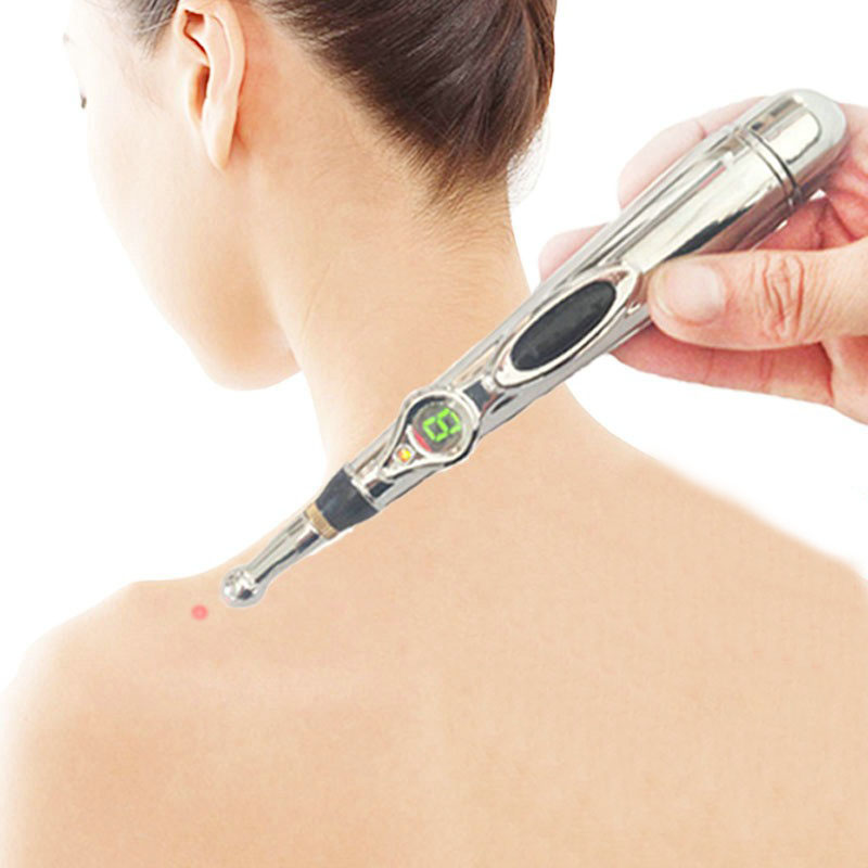New Hot Sale Portable Electronic Acupuncture Meridian Energy Health Pen Kit Therapy Heal Massage Pain electronic acupuncture pen meridian energy pen
