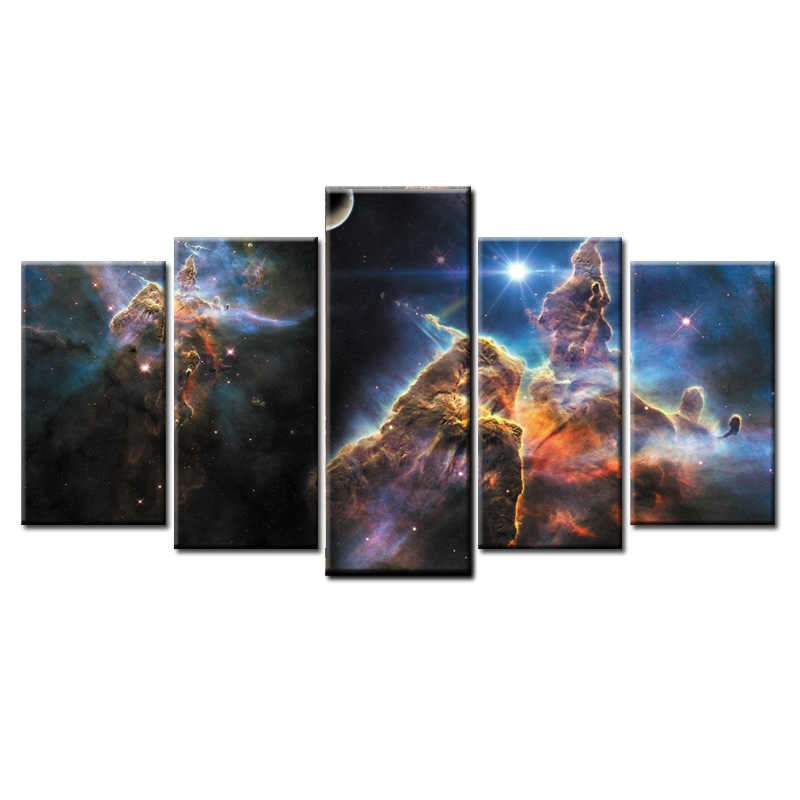 Fashion Frame Wall Decorations 5pcs / Set Modern Movie poster Canvas Print Artist Canvas Decoration/Abstract (138)