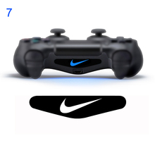 1 Pair number 7 Controllers LED Skin sticker for PS4 Decal Skin Custom For Playstation 4 Controllers LED Light for PS4 Dualshock