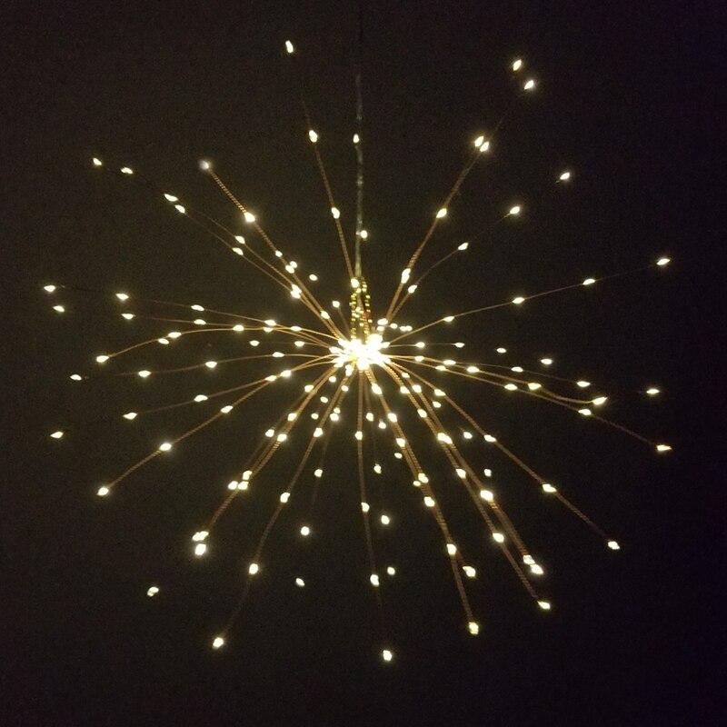 diy firework guirlanda luz para o feriado decoração gerlyanda