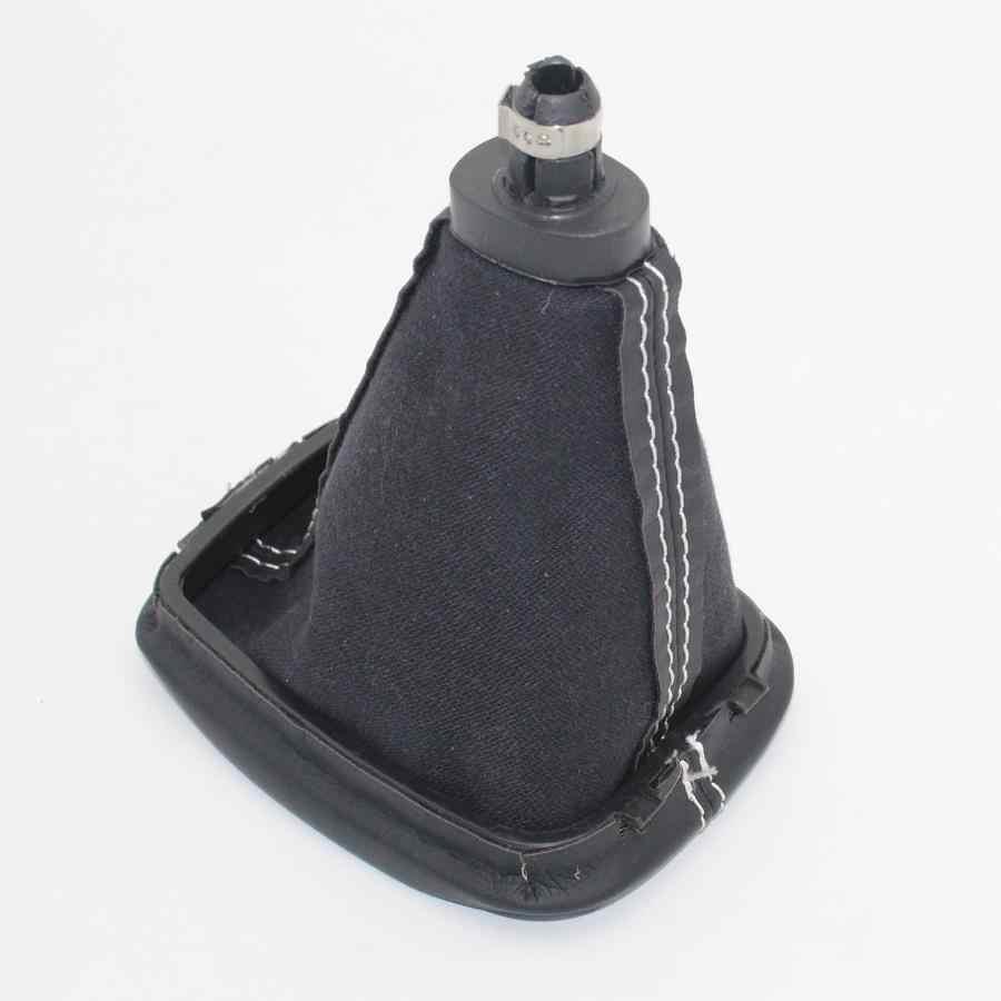 5 Hız Araç Vites Çubuk Shift Topuz Deri Boot Skoda Fabia Için MKI (6Y) 2000 2001 2002 2003 2004 2005 2006 2007 2008 Araba-Styling