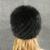 De las mujeres Sombreros de Invierno Con Gorro de piel de Visón Natural Mujeres de la Piel Verdadera Gorros de Punto Sombrero de la Piña Tienen Orejas Sombrero De Piel De Visón Real Para mujeres