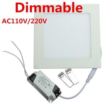 DHL Free shipping 20pcs/lot Ultra thin design 25W AC85-265V LED ceiling recessed grid downlight / slim square panel light