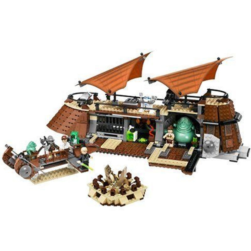 LEPIN 05090 821pcs Star Series Genuine The Ja`s Sail Barge Model Building Block set Brick Educational Toy For children Gift 6210