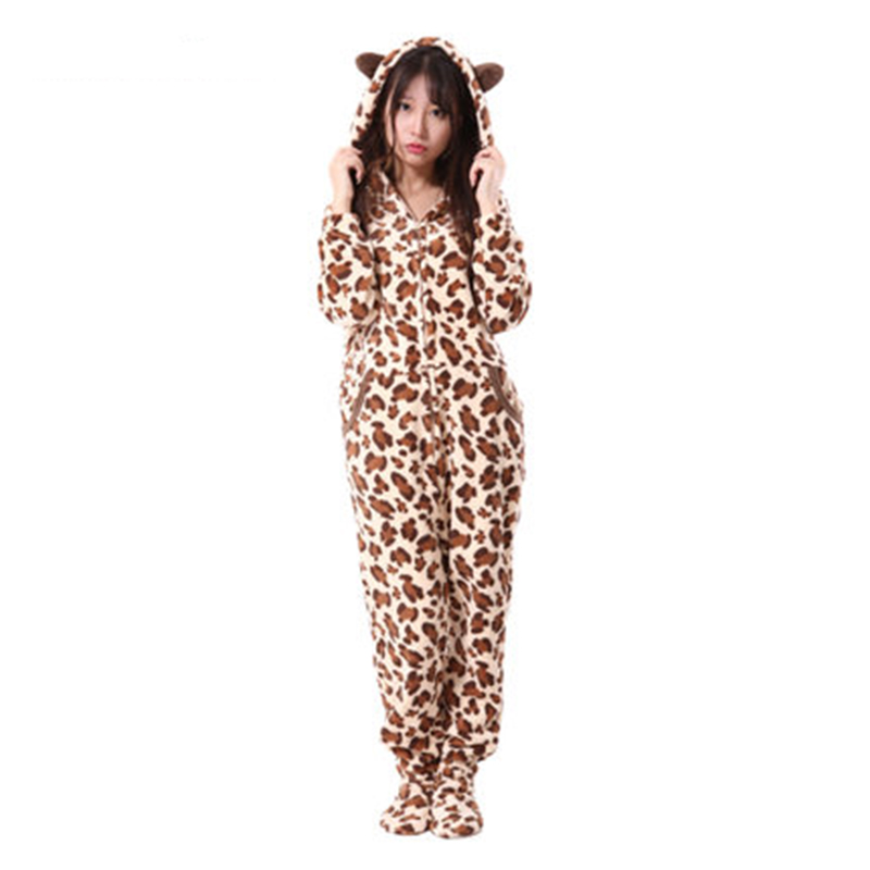 Popular Womens Leopard Print Pajamas-Buy Cheap Womens Leopard ...