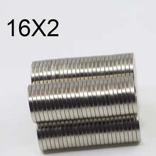10/20/50/100Pcs 16x2 Neodymium Magnet 16mm x 2mm N35 NdFeB Round Super Powerful Strong Permanent Magnetic imanes Disc