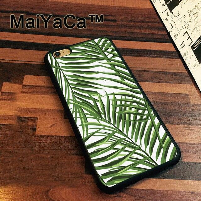 coque iphone xr feuille de palmier