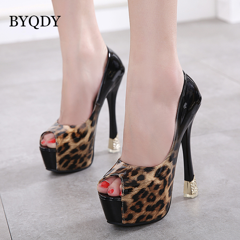 Womens Party 15cm Stiletto Heels Sandal Shoe Clubwear Platform Zip Peep Toe Pump