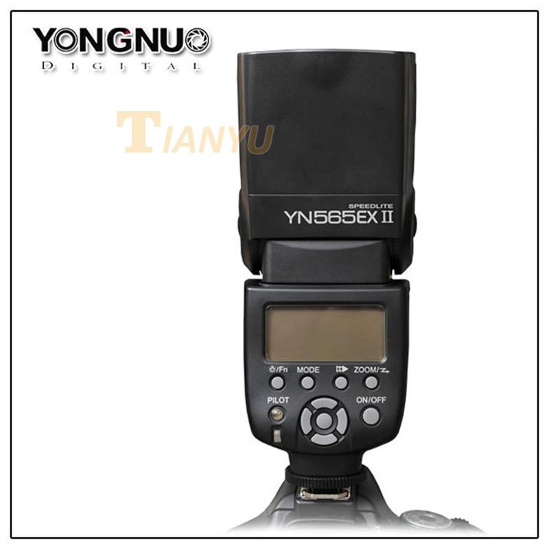 Newest YONGNUO YN-565 EXII YN565EXII E-TTL Wireless Slave Flash Speedlite for Canon 650D 600D 550D 500D 1000D 1100D yongnuo yn e3 rt e ttl wireless flash speedlite transmitter for canon st e3 rt 600ex rt for wireless flash shooting