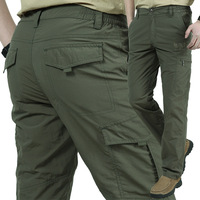 Plus size 4xl Army Military Men pants lightweight Breathable Quick Dry Pants Summer Casual Tactical Pants Waterproof Trousers