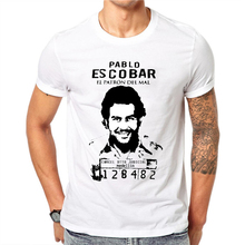 LettBao 2018 New Arrival Summer Custom T Shirt God Pablo Escobar T Shirt Funny Men Brand Clothing Hipster Tops Tees Cool Shirt