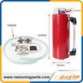 RASTP-Alumínio Corrida de Captura Oil Tanque/Pode 750 ml Rodada Pode Reservatório Turbo Oil Catch Pode/Não Pode captura Universal LS-OCC006