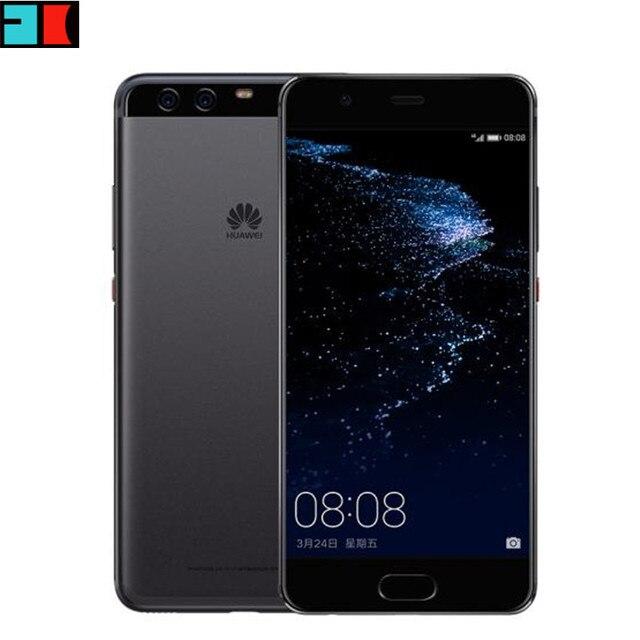 "Original Huawei P10 4G LTE Kirin 960 Octa Core 4GB RAM 128GB ROM 5.1""1920x1080 FHD Dual Rear Camera Fingerprint NFC"