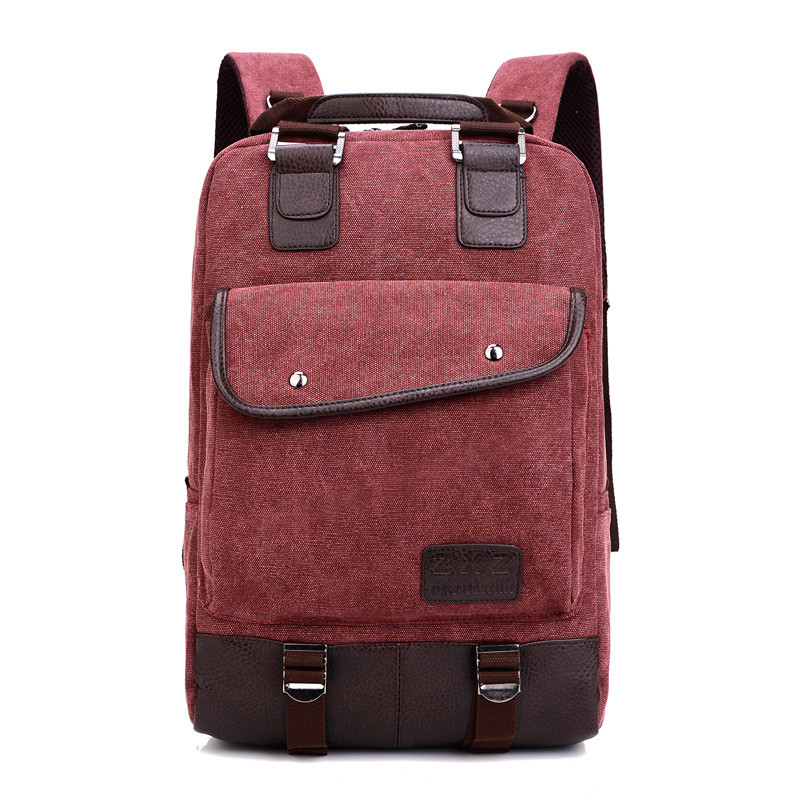 New Fashion Women and Men Backpack Unisex Canvas Women's ...