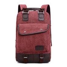 New Fashion Women and Men Backpack Unisex Canvas Women's Backpacks Laptop Backpack Female Male Travel School Bag 2016