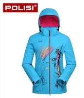 POLISI Professional Outdoor Sport Windproof Snowboard Clothing Men S Skiing Snow Jacket Waterproof Winter Warm Ski