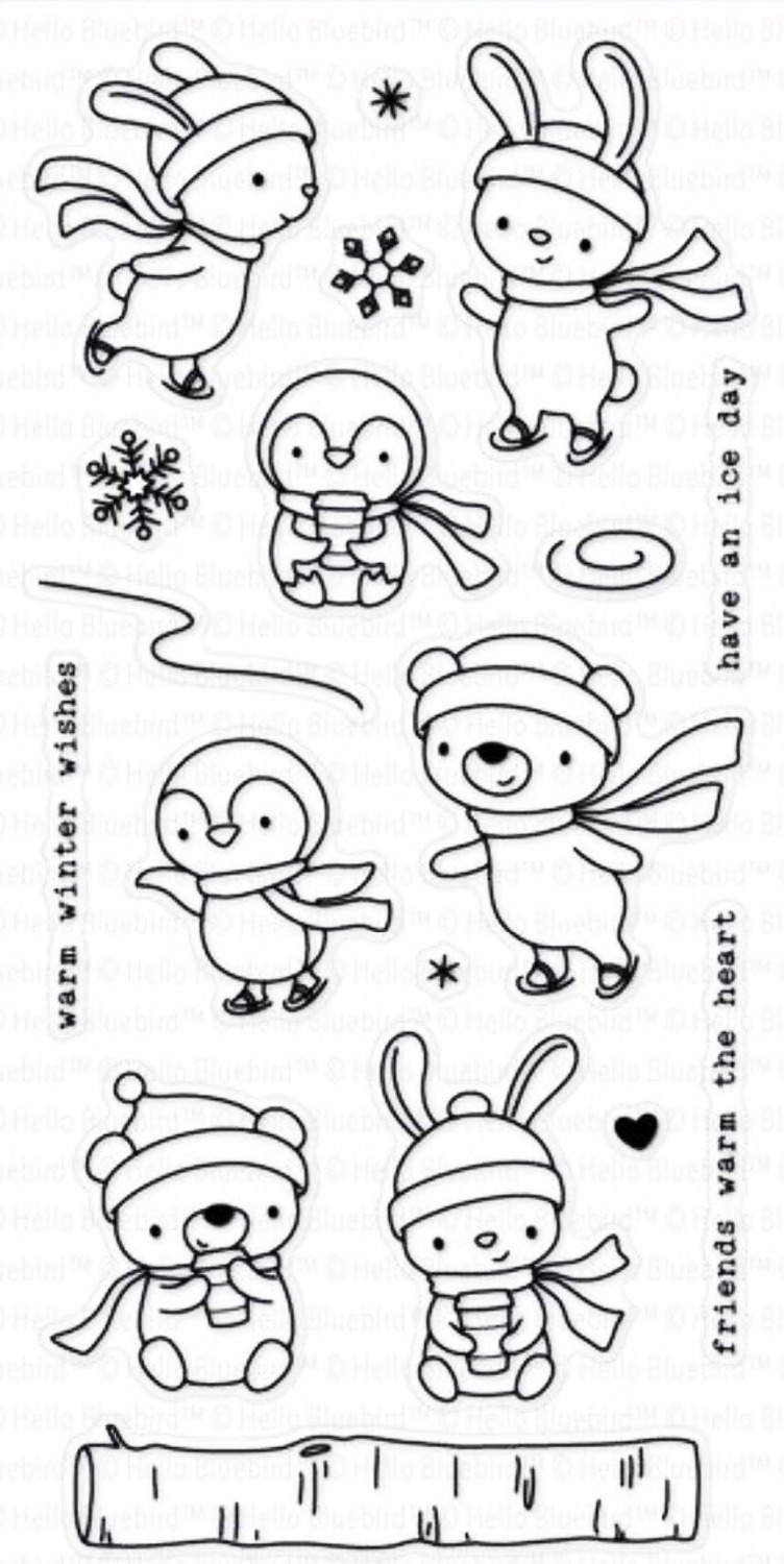 winter wishes/Transparent Clear Stamps for DIY