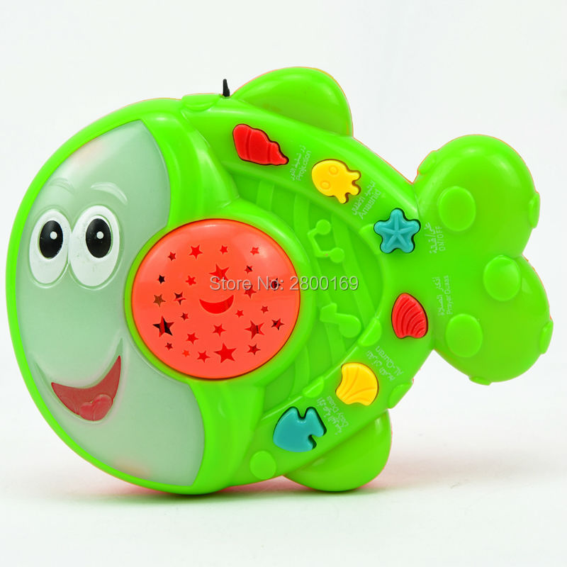 Arabic-islamic-toys-AppleFishFrog-learning-Holy-Quran-learning-machines-muslim-toys-with-Projection-Educational-islam-toys-5