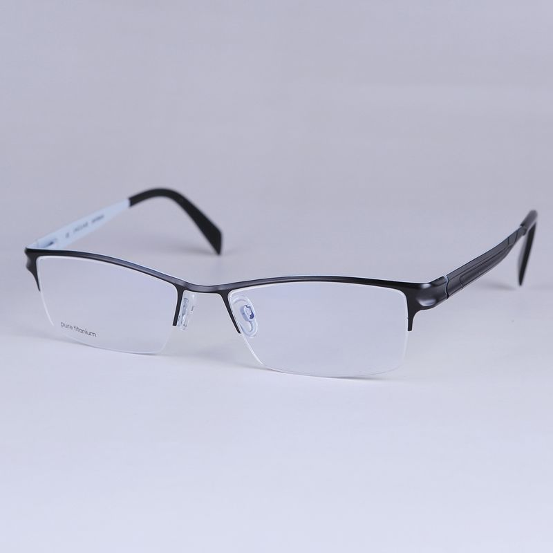 f3dde72677 Titane Cadre Marque Designer Optique Cadres Lunettes Cadres Oculos de grau  Vintage Spectacle Cadres Super vente Chaude 36027