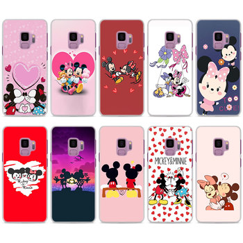 Mickey minnie mouse anime Phone Cases for Samsung Galaxy S8 S9 S10 Plus S10 Lite S6 S7 Edge Note 9 8 Hard PC case cover winnie the pooh iphone case